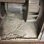 Cleaning Ducts - Before