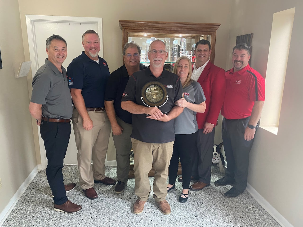 Family Heating & Air - Bryant 2020 Dealer of the Year Award